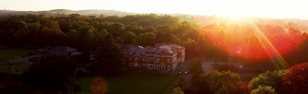 Eaves Hall Wedding Drone Videographyj.pg