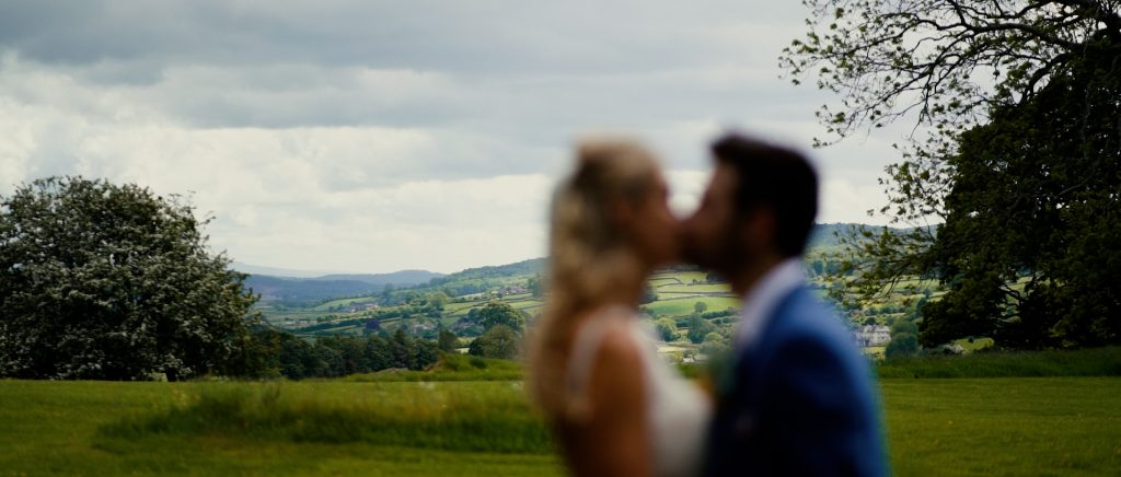 Paddock Barn wedding video's have the breathtaking Lake District fells as a backdrop