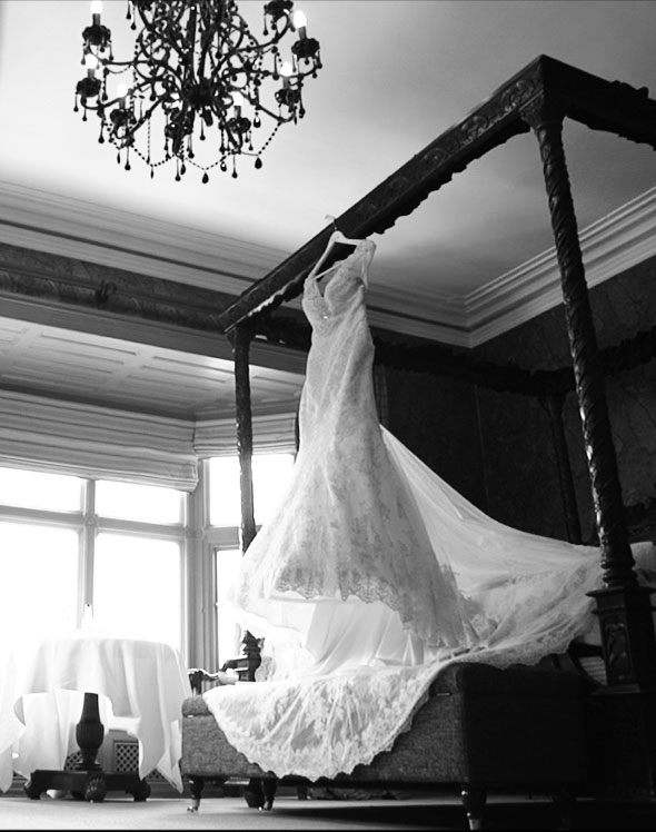 Mitton Hall Wedding Bridal Suite