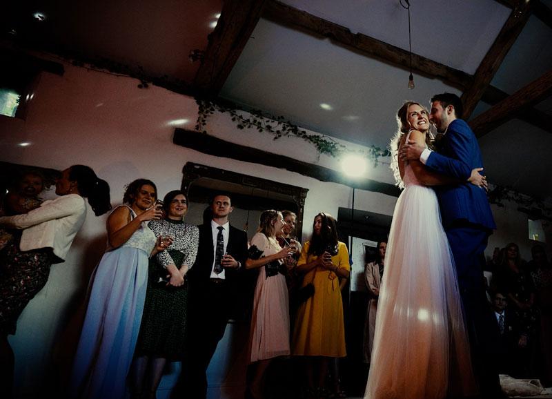 Paddock Barn Wedding First Dance
