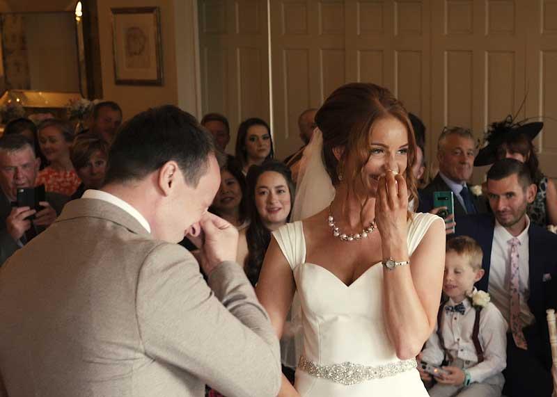 Shireburn Arms Wedding Ceremony Dorian and Beth