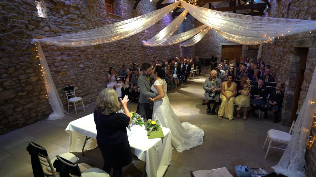 Browsholme Hall Wedding Videographer