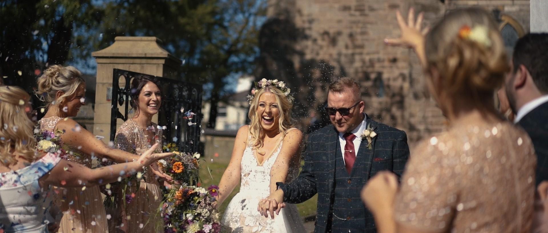 Lancashire wedding video Dan + Vicki capture