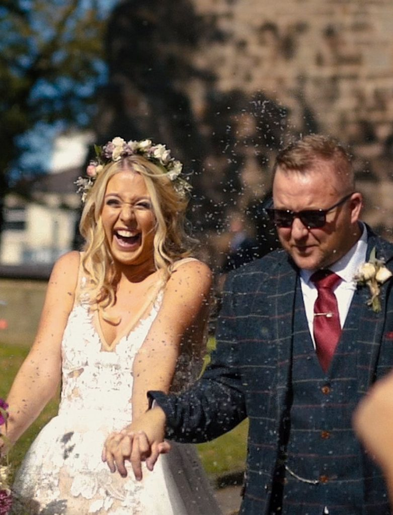 Lancashire wedding videographer Real is Beautiful Films