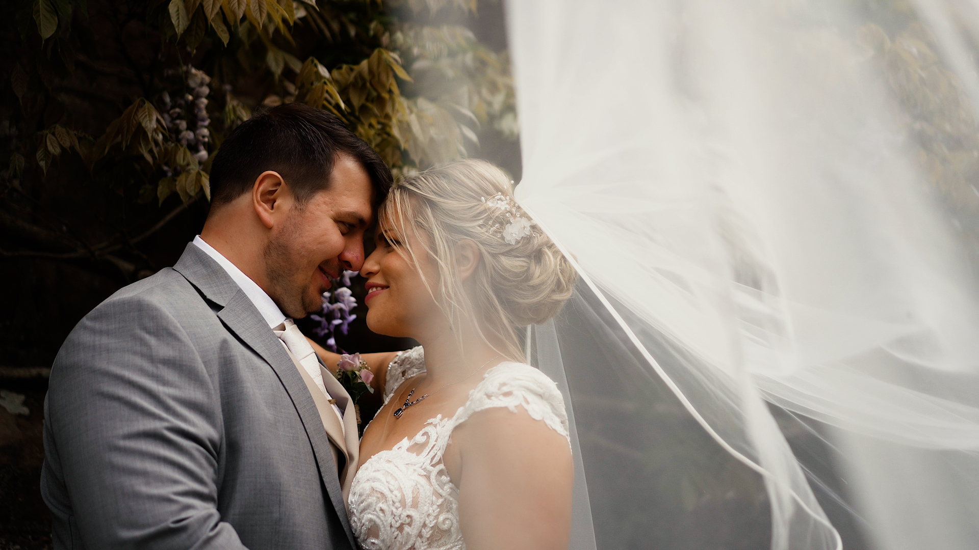 Vinny and Louise Wedding Video Askham Hall
